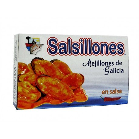 Cermar Tin 111g Salsillones mussels in spicy sauce