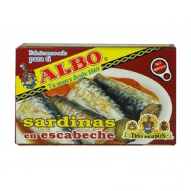 Albo Sardinas en Escabeche Lata 120g