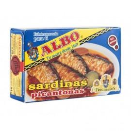 Albo Sardinas en Salsa Picante Lata 120g