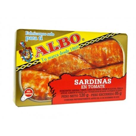 Albo Sardinas en Tomate Lata 120g