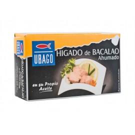 Ubago Higado de Bacalao Ahumado en Aceite Lata 100g