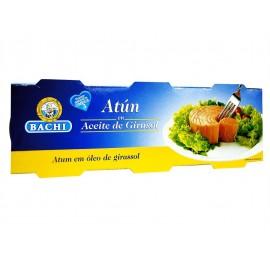 Bachi Atún en Aceite Vegetal Pack 3x85g