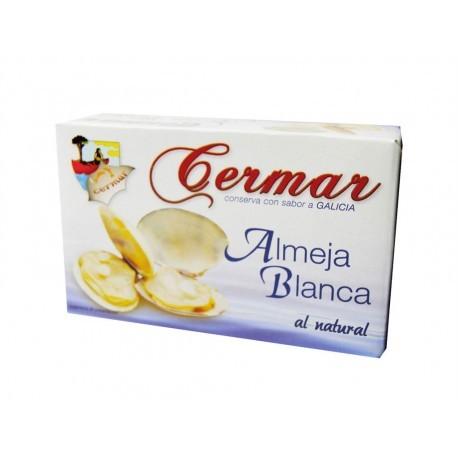 Cermar Almejas Blancas Naturales Lata 115g