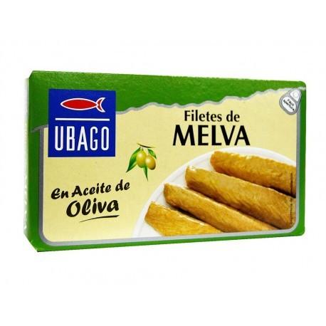 Ubago Filetes de Melva en Aceite de Oliva Lata 115g