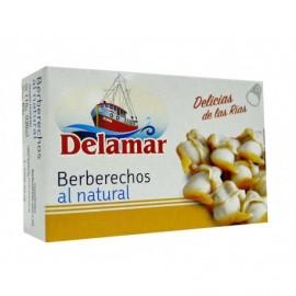 Delamar Coques naturelles Conserve 115g
