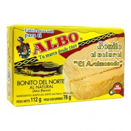 Albo Bonite del Norte Au Naturel Scatola 78 g