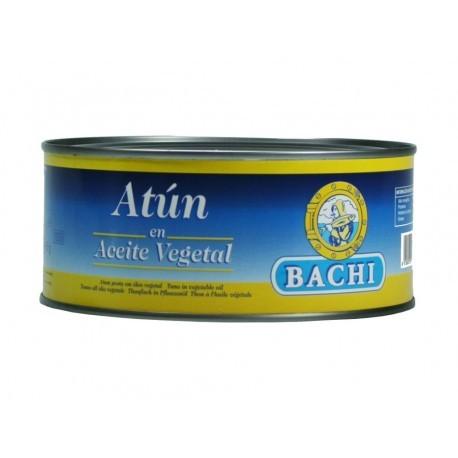 Bachi Atún en Aceite Vegetal Lata 750g