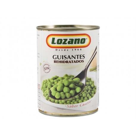 Lozano Guisantes Rehidratados Lata 400g