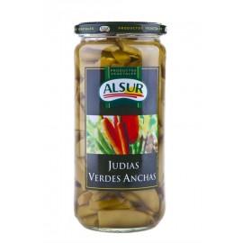 Alsur Judías Verdes Anchas Tarro 650g