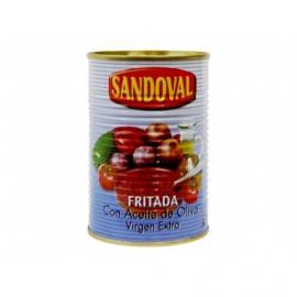 Sandoval Pisto de Verduras con Aceite de Oliva Virgen Extra Lata 420g