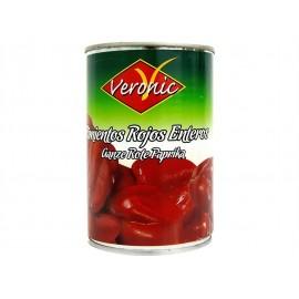 Veronic Pimientos Rojos Enteros Lata 390g