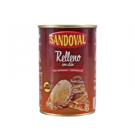 Sandoval Relleno con Atún para Empanadas y Empanadillas Lata 420g