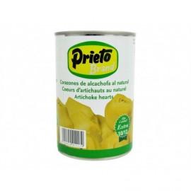Prieto Can be stored 10-12 units - 390g Natural artichoke hearts