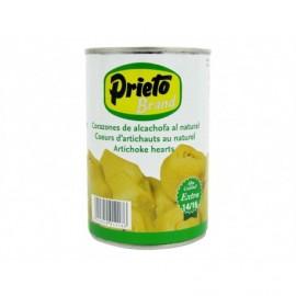 Prieto Canned 14-16 units - 390g Natural artichoke hearts