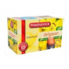Pompadour Box of 20 units Delgaxan Plus herbal tea with artichoke