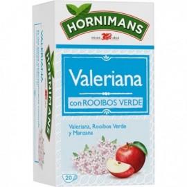 Hornimans Valeriana con Rooibos Verde Caja 20ud