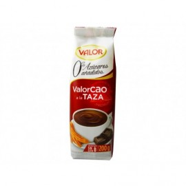 Valor Cacao en Polvo 0% Azúcares Añadidos Bolsa 200g