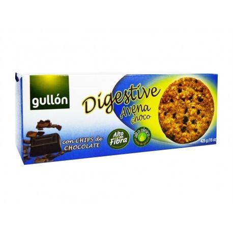 Gullón Galletas Digestive de Avena y Chocolate Caja 425g