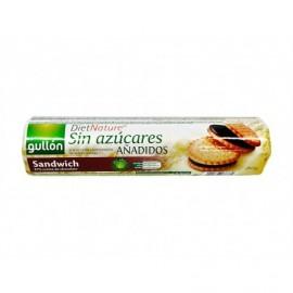 Gullón Biscotti sandwich al cioccolato senza zucchero Pack da 250g