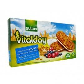Gullón Galleta Vitalday Yoghurt con Avena y Frutos Rojos Caja 220g