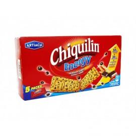Artiach Biscotti Chiquilin Energy al cioccolato Scatola 200 g