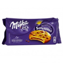 Milka Galletas Sensations Rellenas de Chocolate Paquete 156g