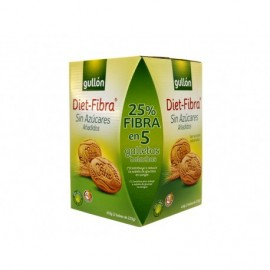 Gullon 450g box Dietary fiber-based cookies with no added sugars