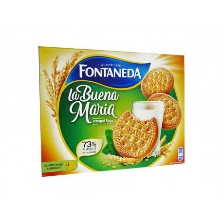 Fontaneda Galletas María Integrales con Soja Caja 660g