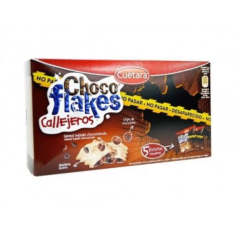Cuétara Galletas Cereales Choco Flakes Callejeros Caja 250g