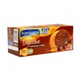 Fontaneda Biscuits Digestive au chocolat Boite 300g