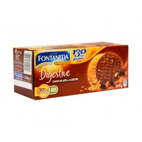 Fontaneda 300g box Chocolate Digestive Cookies