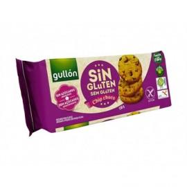 Gullón Galletas Chip Choco Sin Azúcares Sin Gluten Paquete 130g