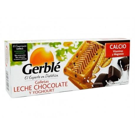 Gerblé Galletas de Chocolate con Leche y Yoghourt Caja 230g