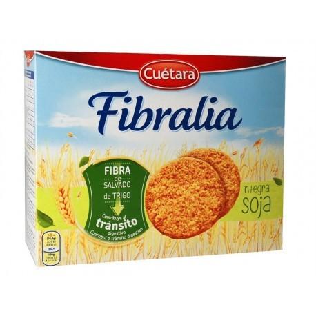Cuétara Galletas Fibralia Integrales de Soja Caja 550g