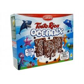 Cuétara Galletas Tosta Rica Oceanix con Pepitas Chocolate Caja 480g