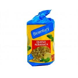 Bicentury Tortitas de Maíz Sabor Queso-Albahaca Paquete 123g