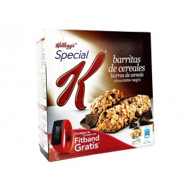Kellogg´s Barritas de Cereales Chocolate Negro Special K Caja 6ud