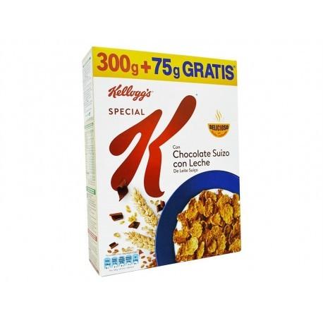Kellogg´s Cereales Special K Chocolate Suizo con Leche Caja 300g (+75g Gratis)