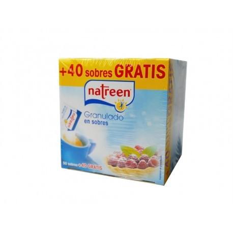 Natreen Edulcorante Granulado en Sobres Caja 50 Sobres (+40 Gratis)