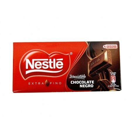Nestlé Chocolate Negro Extrafino Tableta 125g