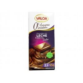 Valor Chocolate con Leche Sin Azúcar Tableta 100g