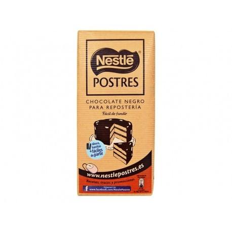 Nestlé Chocolate Negro para Repostería Fácil de Fundir Tableta 250g