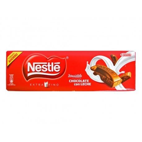 Nestlé Chocolate con Leche Extrafino Tableta 300g Formato Ahorro