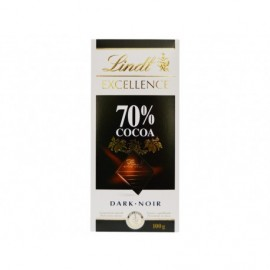 Lindt Chocolate Dark Noir 70% Cacao Tableta 100g