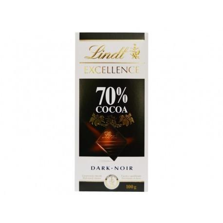 Lindt Chocolate Dark Noir 70% Cacao Tableta 100g