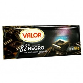 Valor Chocolate Negro 82% Tableta 170g