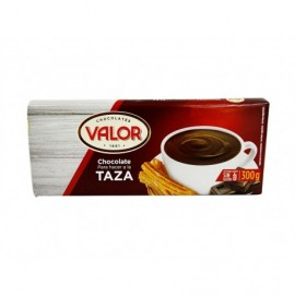 Valor 300g bar Chocolate by cup