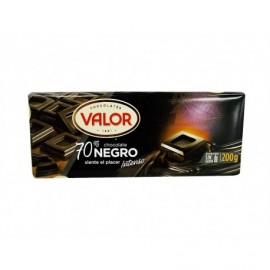 Valor Chocolate Negro 70% Tableta 200g