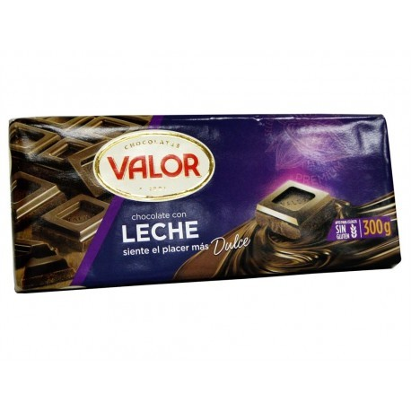 Valor Chocolate con Leche Tableta 300g