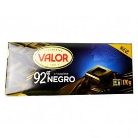 Valor 170g bar 92% dark chocolate